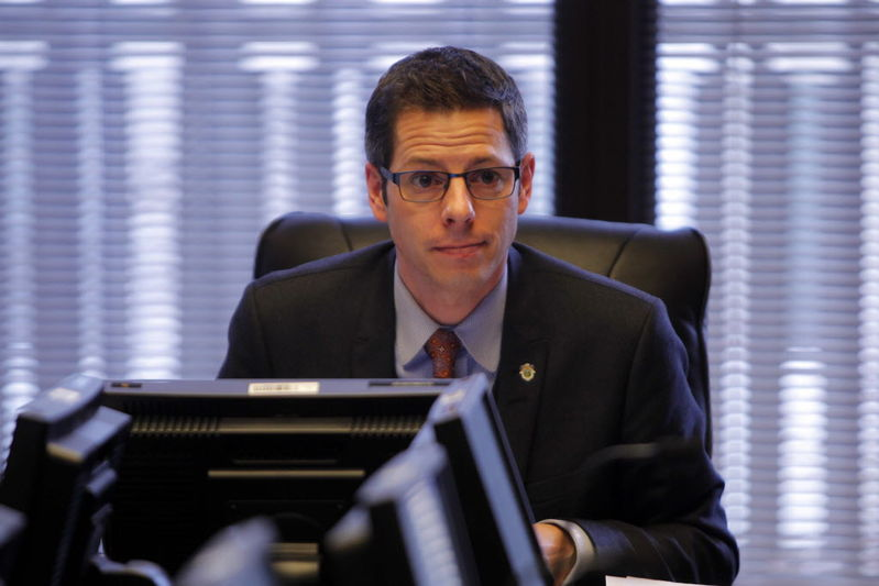 Mayor Brian Bowman has called for a review of CentreVenture structures. (Boris Minkevich- Winnipeg Free Press)