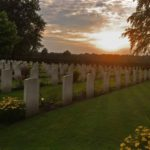 From one of our visits to the Commonwealth War graveshellip
