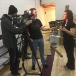 imastudents grab an interview today during the CardBoardChallenge accmb learnbydoinghellip