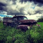 Farm fresh oldtimer gmc truck antique